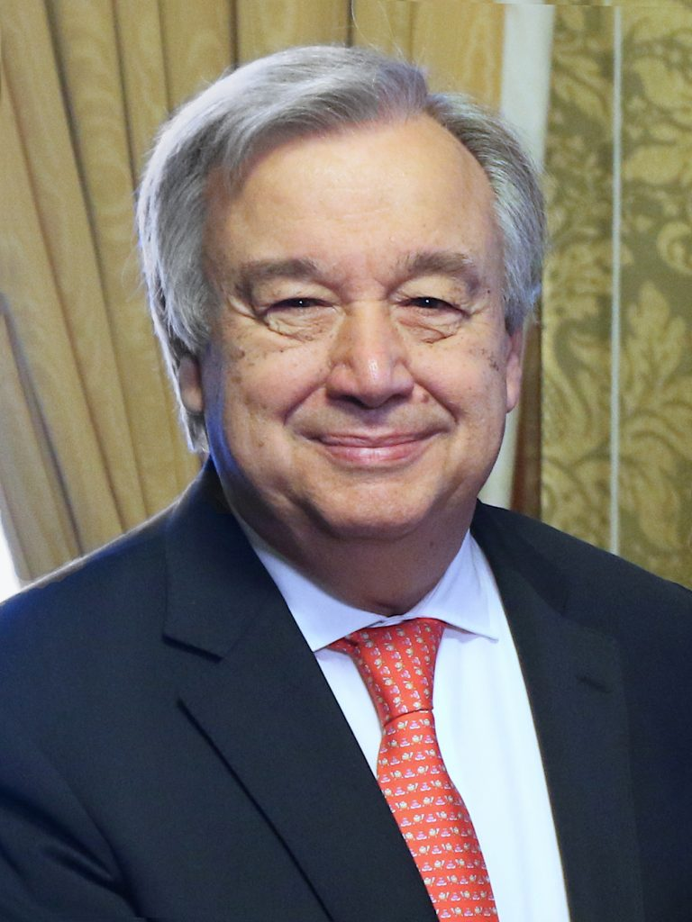 António Guterres, secretário-geral da ONU (foto: The British Foreign and Commonwealth Office)